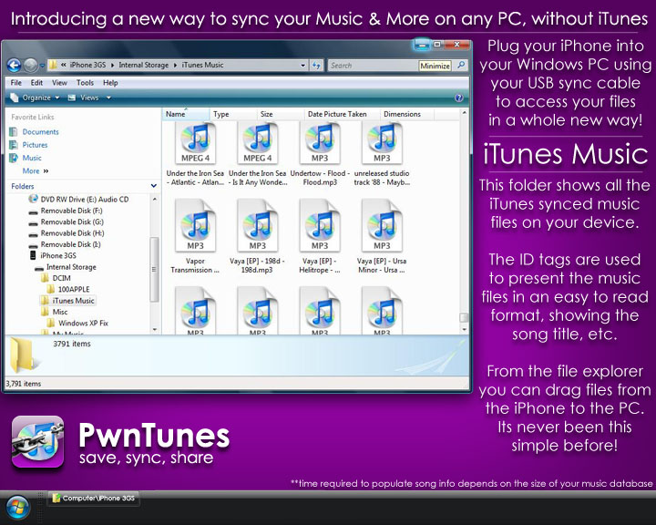 how to get mp3 files onto iphone without itunes